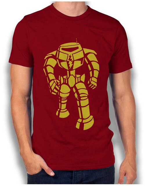 Robot Big Bang Theory T-Shirt bordeaux L