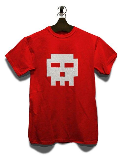 Pixel Totenkopf T-Shirt