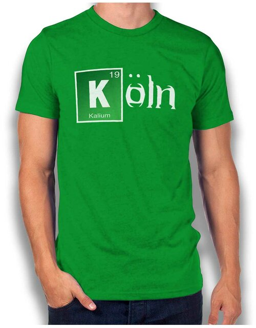 Koeln T-Shirt green L
