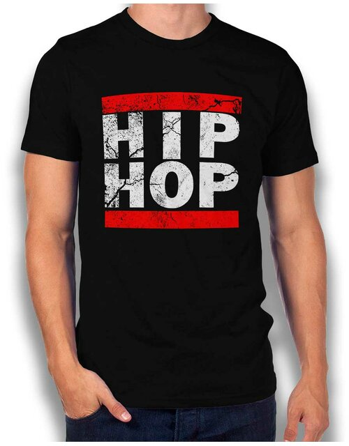 Hip Hop Vintage T-Shirt black L