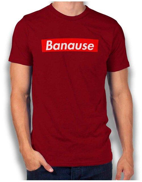 Banause T-Shirt bordeaux XL