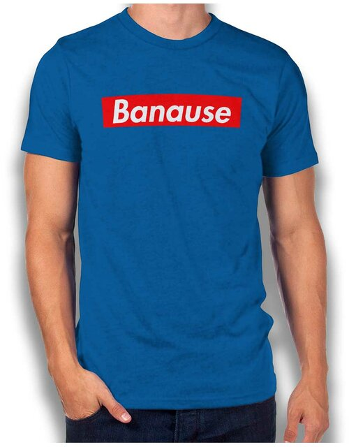 Banause T-Shirt royal S
