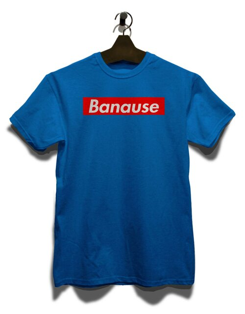 Banause T-Shirt royal M
