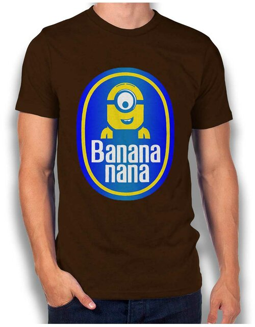 Banananana T-Shirt braun XL