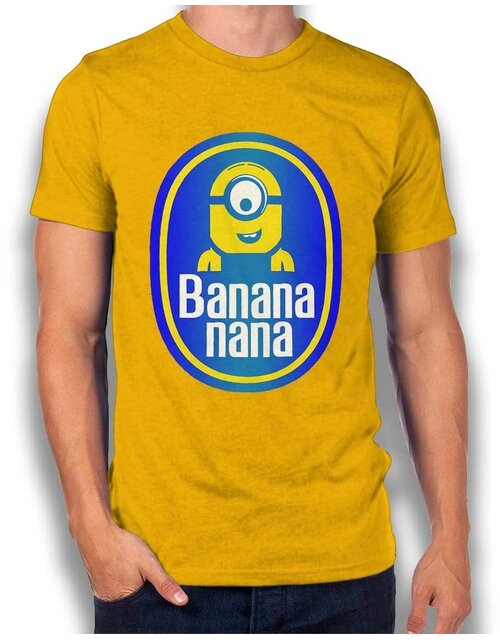 Banananana T-Shirt gelb S
