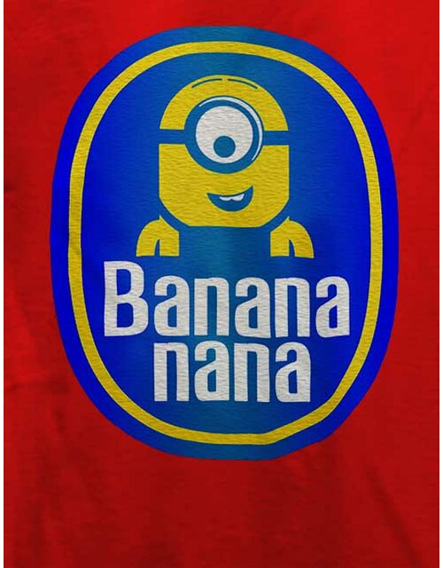 Banananana T-Shirt rot 2XL