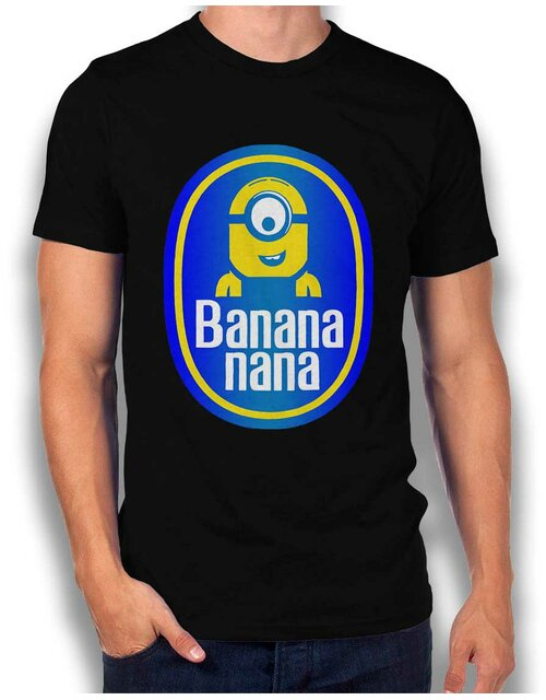Banananana T-Shirt schwarz XL
