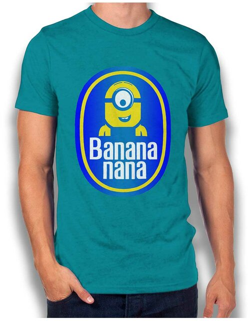 Banananana T-Shirt tuerkis 2XL