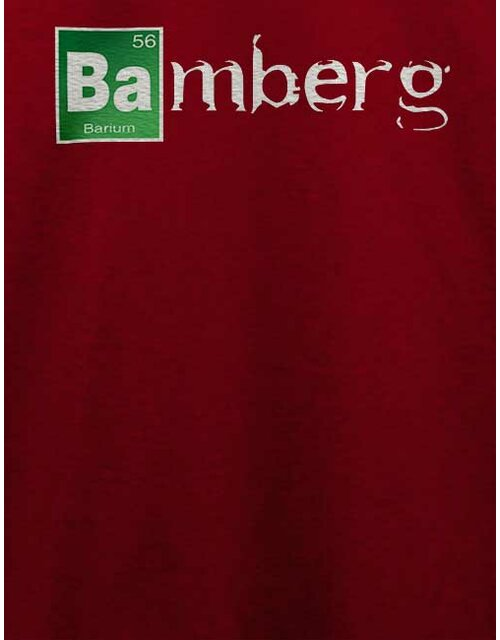 Bamberg T-Shirt bordeaux L