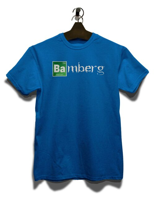 Bamberg T-Shirt royal S