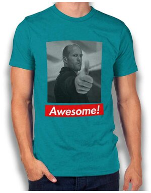 Awesome 41 T-Shirt tuerkis L