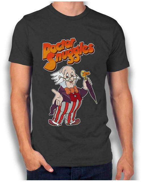 Doctor Snuggles T-Shirt dark-gray L