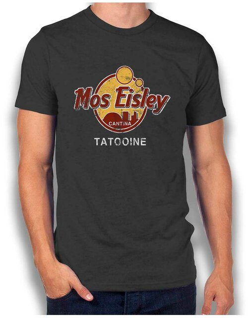 Mos Isley Cantina T-Shirt dark-gray L