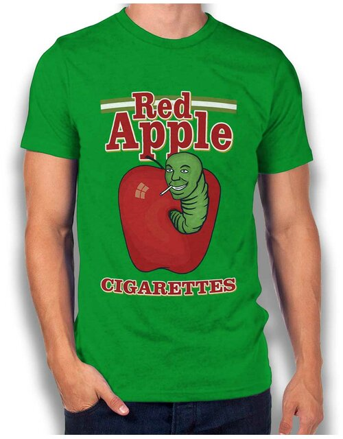 Red Apple Tarantino T-Shirt gruen L