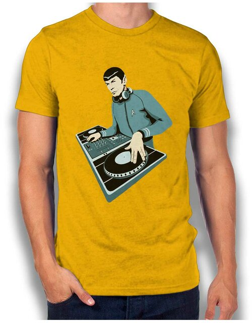 Spock Dj T-Shirt yellow L