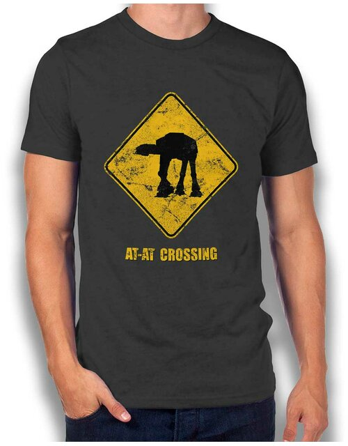 At At Crossing Vintage T-Shirt dark-gray L