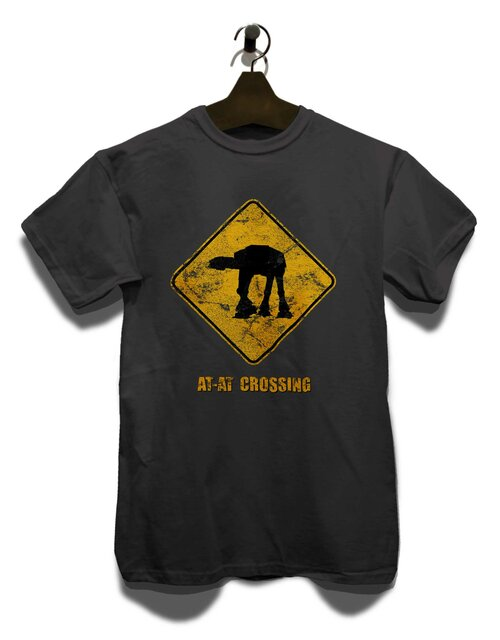 At At Crossing Vintage T-Shirt dunkelgrau L