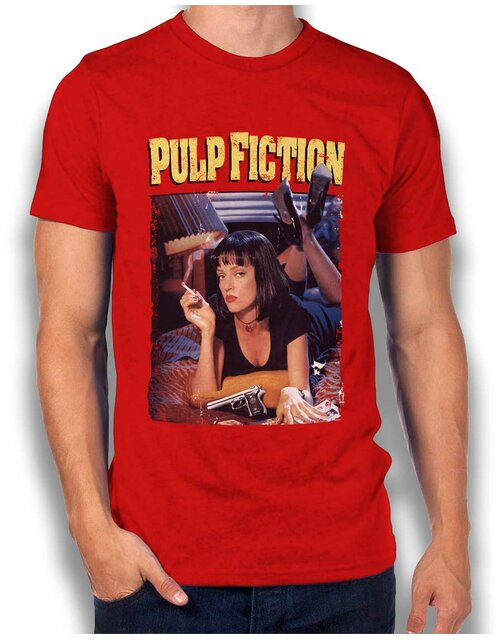 Pulp Fiction Vintage T-Shirt red L
