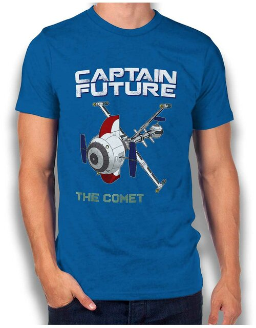 Captain Future The Comet T-Shirt royal-blue L
