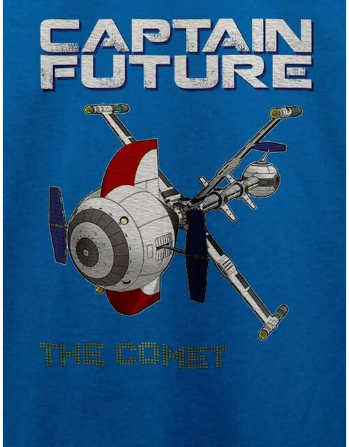 Captain Future The Comet T-Shirt royal L
