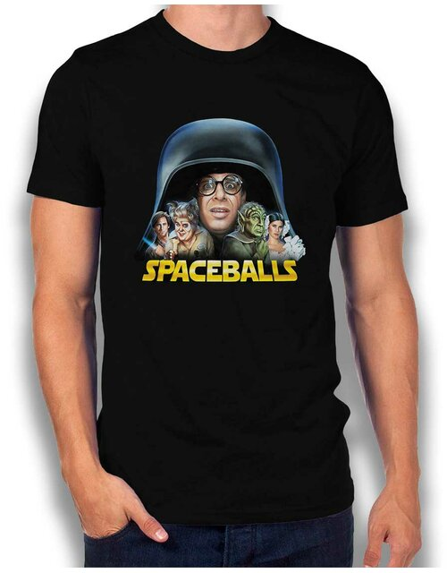 Spaceballs T-Shirt schwarz L