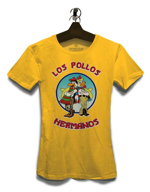 Los Pollos Hermanos Womens T-Shirt yellow L