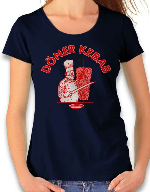Doener Kebap Womens T-Shirt deep-navy L