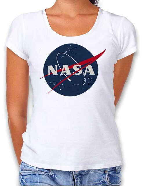 Nasa 2 Damen T-Shirt weiss L