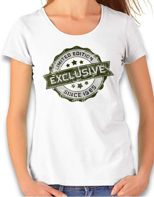 Exclusive Since 1965 Damen T-Shirt weiss L