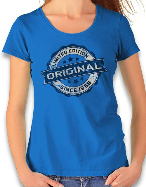 Original Since 1968 Damen T-Shirt royal L