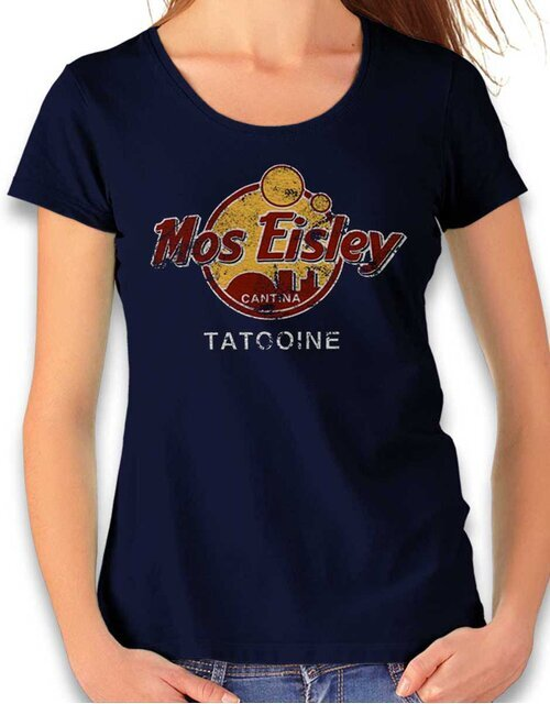 Mos Isley Cantina Womens T-Shirt deep-navy L