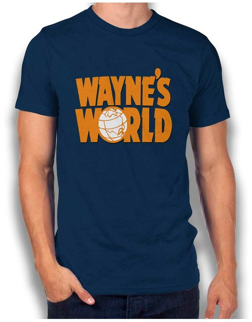 Waynes World T-Shirt dunkelblau L