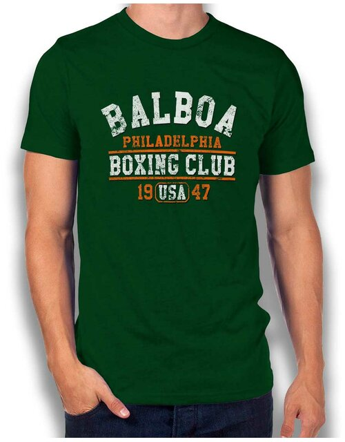 Balboa Boxing Club T-Shirt dark-green L