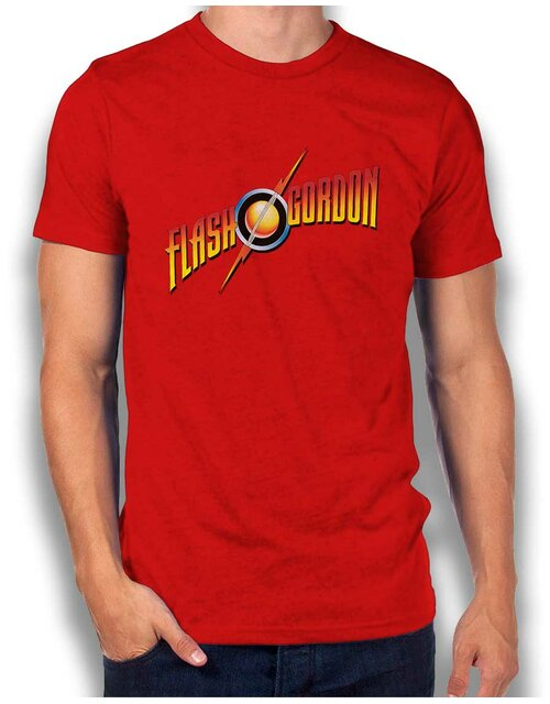 Flash Gordon T-Shirt red L