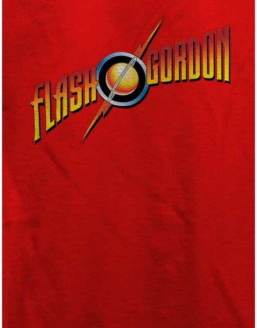 Flash Gordon T-Shirt rot L