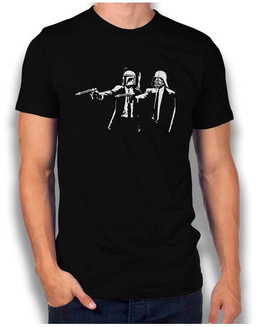 Boba Vader Pulp Fiction T-Shirt schwarz L