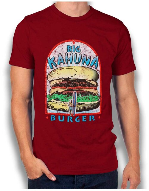 Big Kahuna Burger Vintage T-Shirt bordeaux L