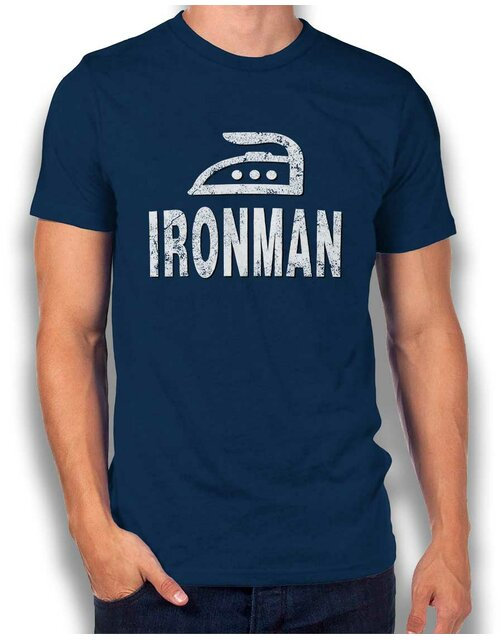 Ironman T-Shirt navy L