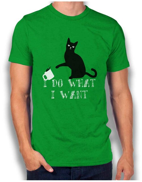 I Do What I Want T-Shirt gruen-green L