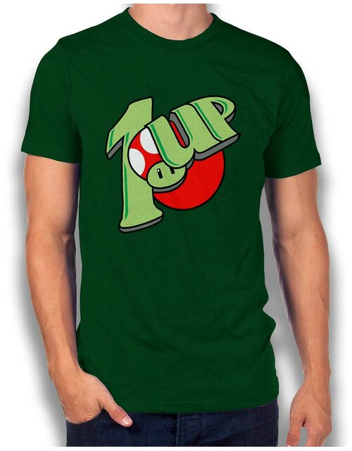 1 Up T-Shirt dunkelgruen L