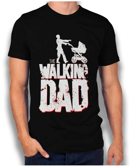 The Walking Dad Vintage T-Shirt schwarz L