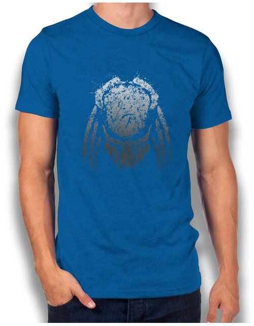 Predator Spash Paint T-Shirt royal L