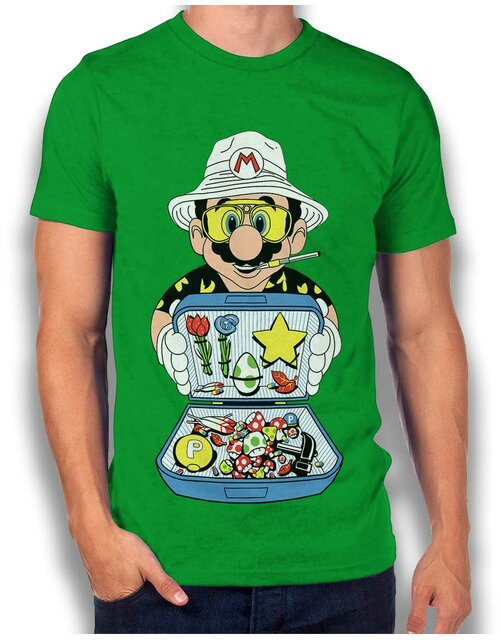 Mario Dealer Fear And Loating In Las Vegas T-Shirt...