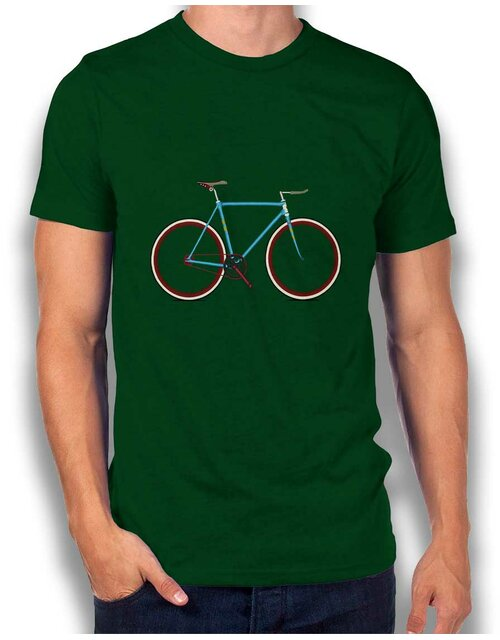 Fixiebike T-Shirt dark-green L