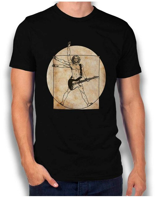 Da Vinci Rocks T-Shirt black L