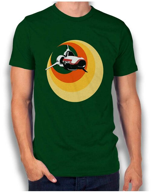 Battlestar Gallactica Viper T-Shirt dark-green L