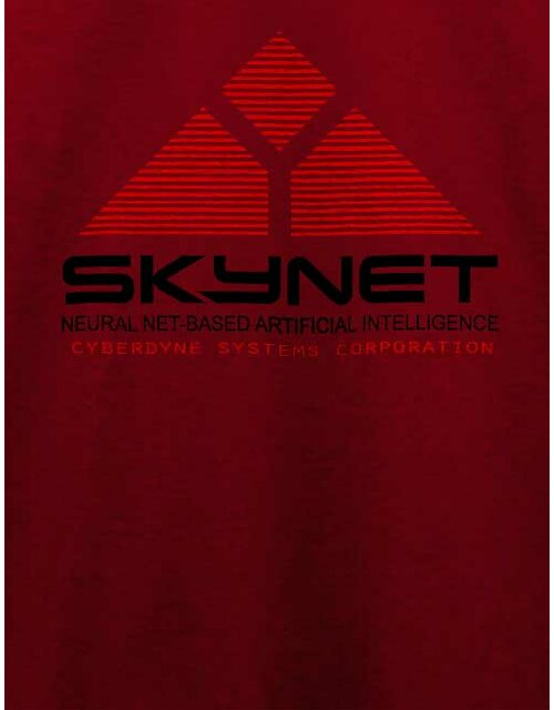 Skynet T-Shirt bordeaux XL
