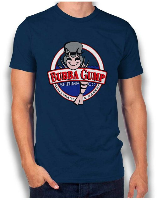 Bubba Gump Shrimp Company T-Shirt navy L