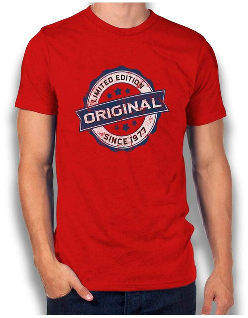 Original Since 1977 T-Shirt red L