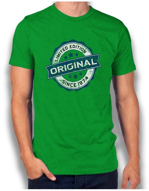 Original Since 1974 T-Shirt gruen L